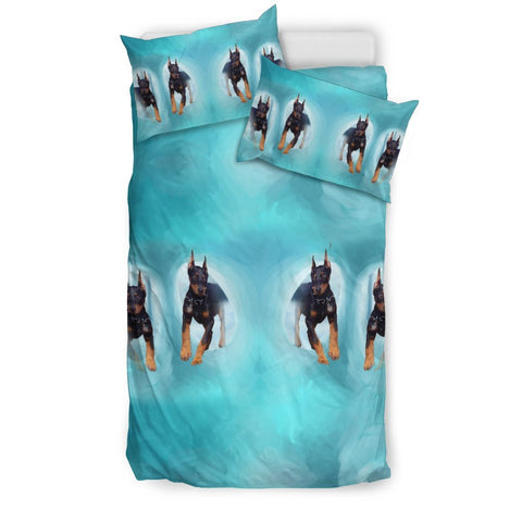 Amazing Doberman Pinscher Dog Print Bedding Sets-Free Shipping