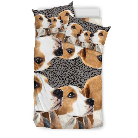 Lovely Beagle Dog 3D Print Bedding Set-Free Shipping