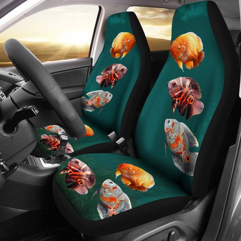 Oscar Fish Print Car Seat Covers-Free Shipping