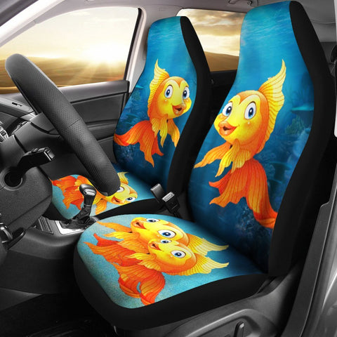 Goldfish Print Car Seat Covers- Free Shipping