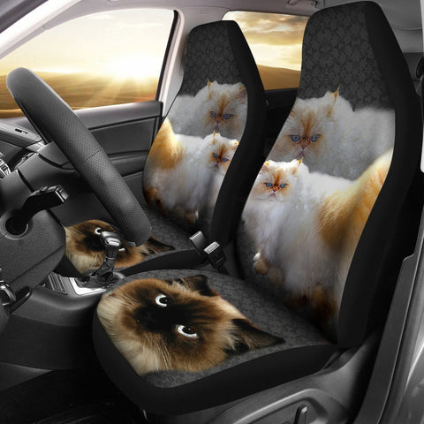 Lovely Himalayan Cat Print Car Seat Covers- Free Shipping