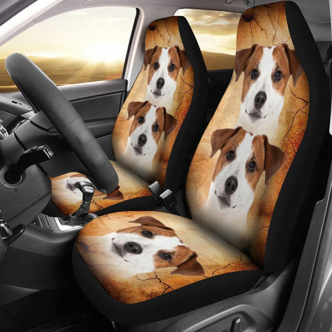 Jack Russell Terrier Print Car Seat Covers-Free Shipping
