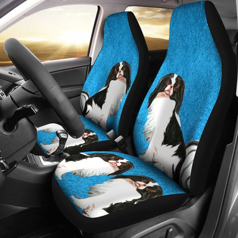Japanese Chin Dog Print Car Seat Covers-Free Shipping