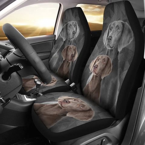 Weimaraner Print Car Seat Cover-Free Shipping