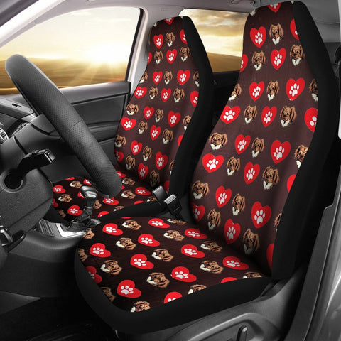 Tibetan Spaniel Print Car Seat Covers- Free Shipping