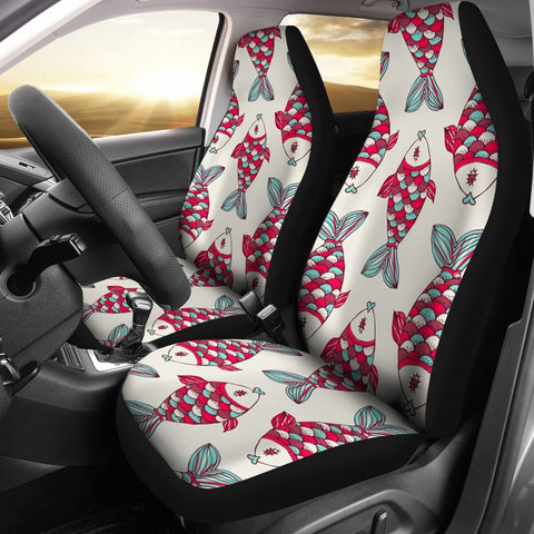 Fish Patterns Print Car Seat Covers-Free Shipping