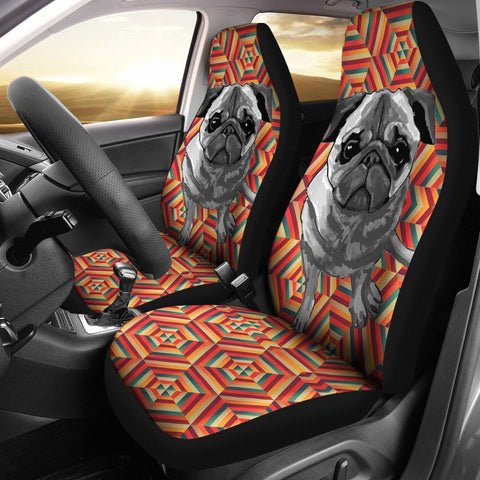 Pug Print Car Seat Covers- Free Shipping