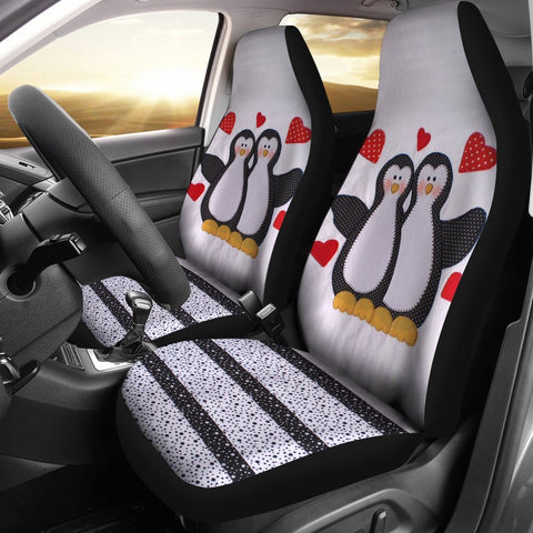 Pinguins Print Car Seat Covers-Free Shipping
