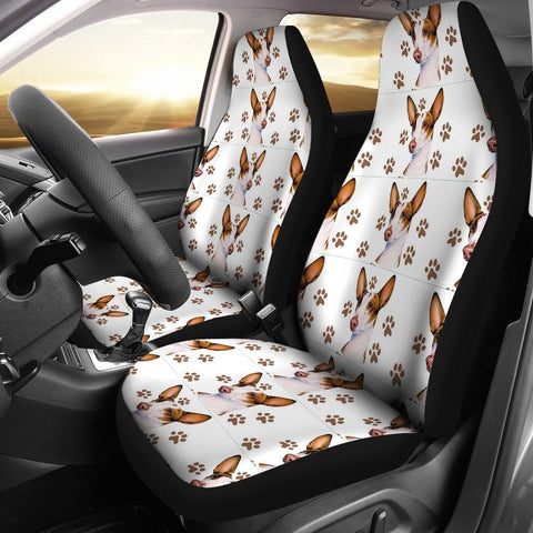 Ibizan Hound Dog Patterns Print Car Seat Covers-Free Shipping