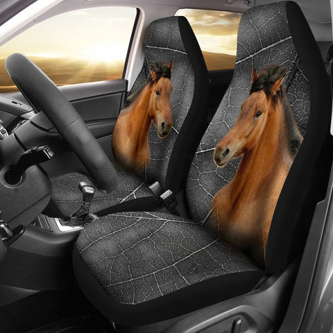 Mustang Horse Print Car Seat Covers- Free Shipping