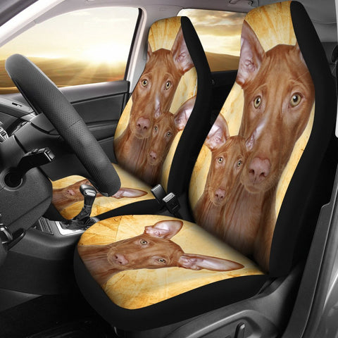 Pharaoh Hound Dog Print Car Seat Covers- Free Shipping