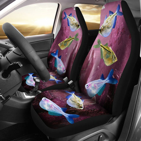 Common HatchetFish (River Hatchetfish) Print Car Seat Covers- Free Shipping