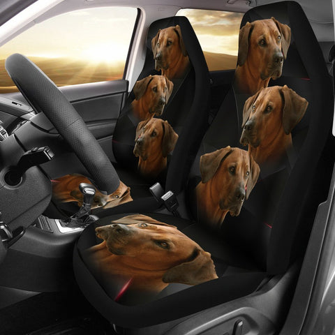 Amazing Rhodesian Ridgeback Print Car Seat Covers-Free Shipping