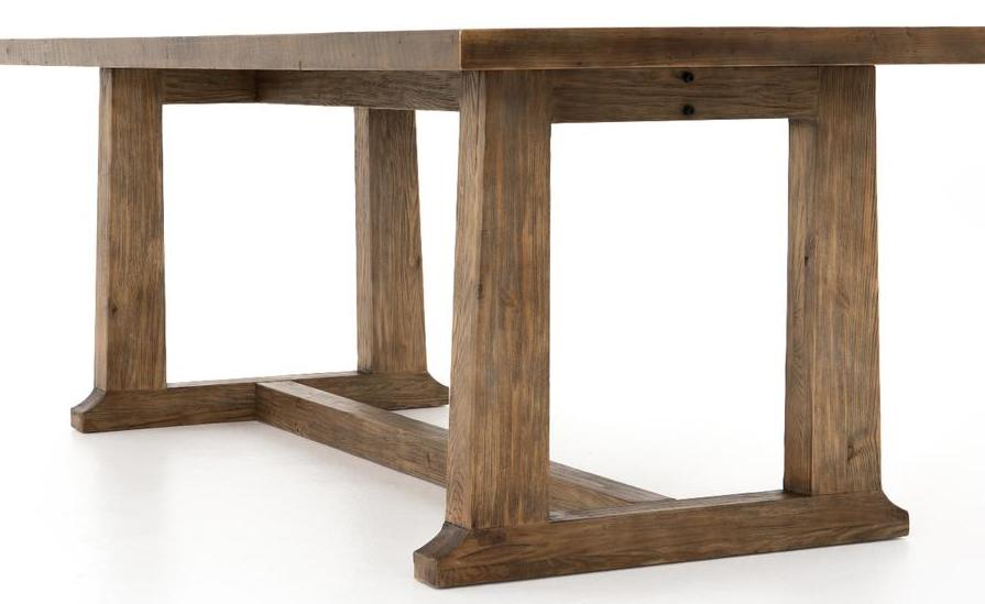 Trestle Dining Table Sustainably sourced TREE tacoma