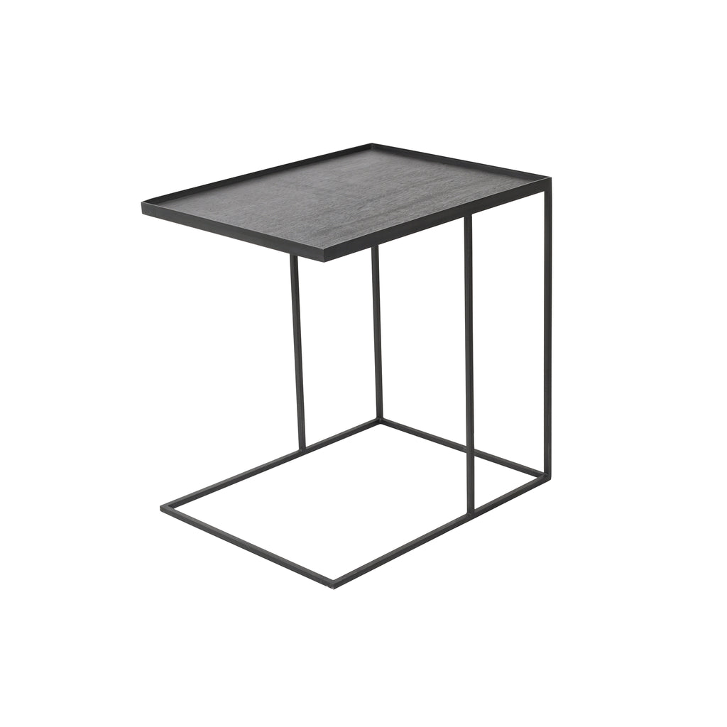 Rectangular tray side table 24 x 19 x 25  (tray not included)