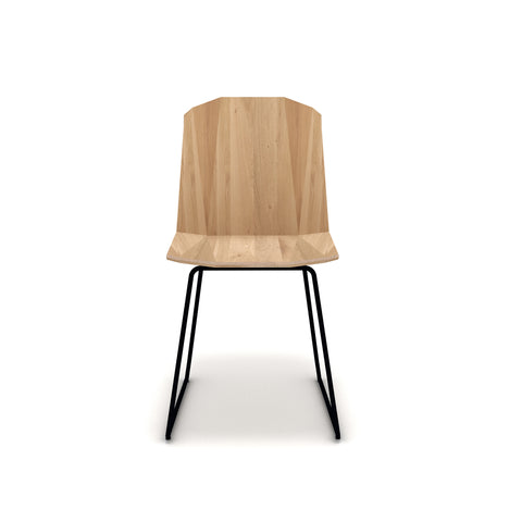 Oak Facette dining chair