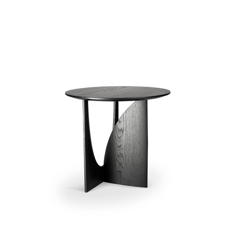 Oak Geometric side table 20 x 20 x 20