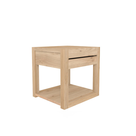 Oak Azur bedside table - 1 drawer 19 x 17 x 19