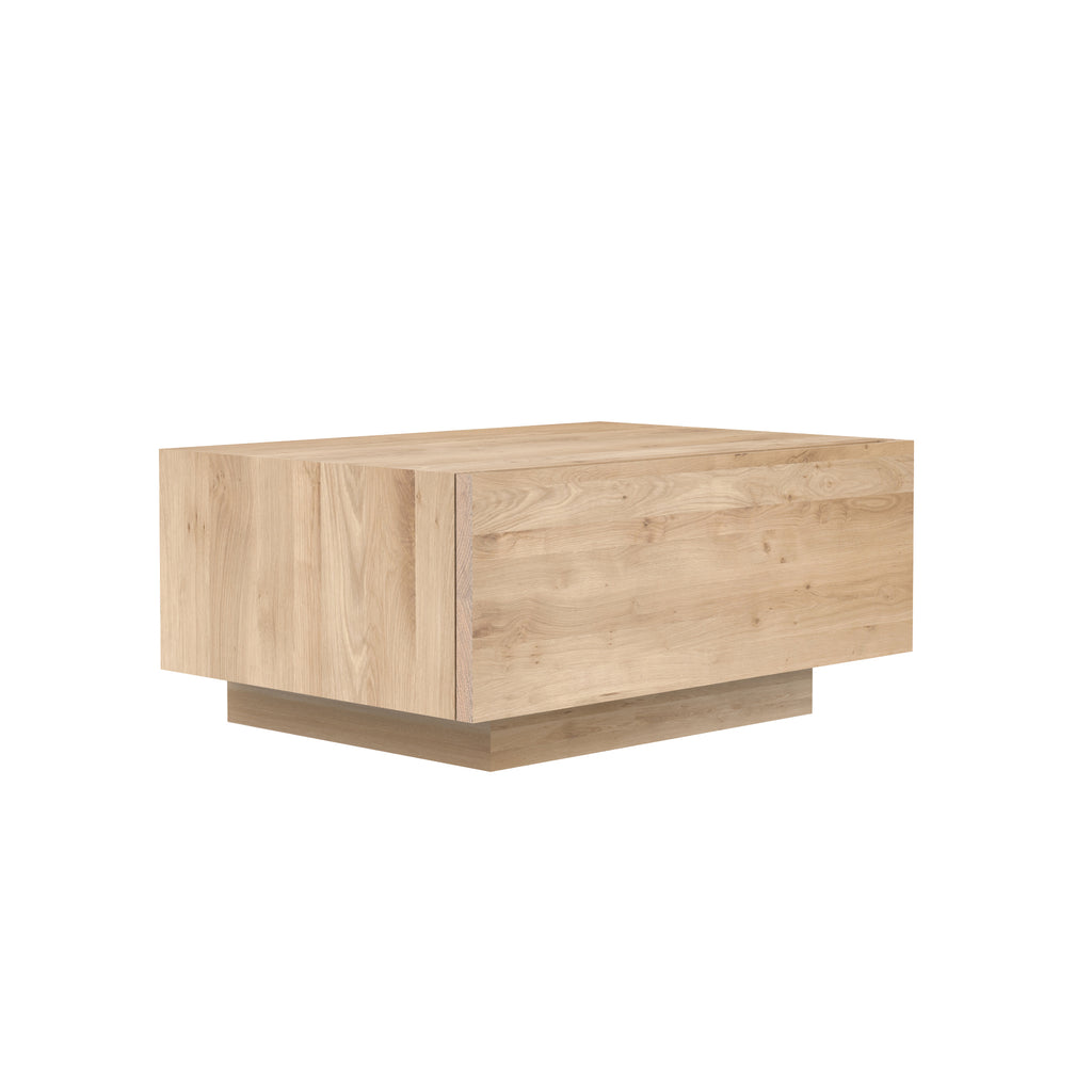 Oak Madra bedside table - 1 drawer 24 x 17 x 11