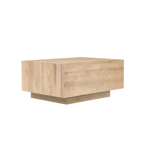 Oak Madra bedside table - 1 drawer