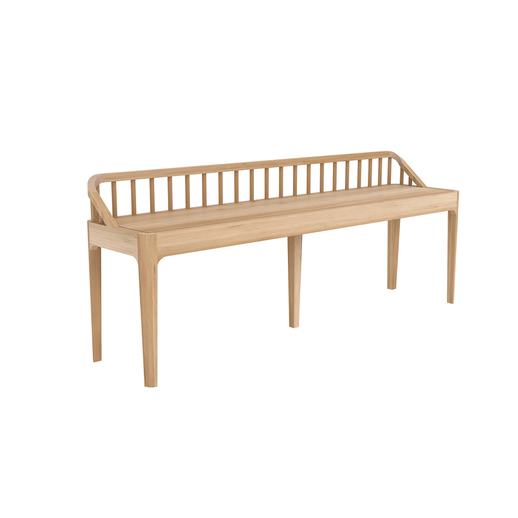 Spindle bench 59 x 14 x 24