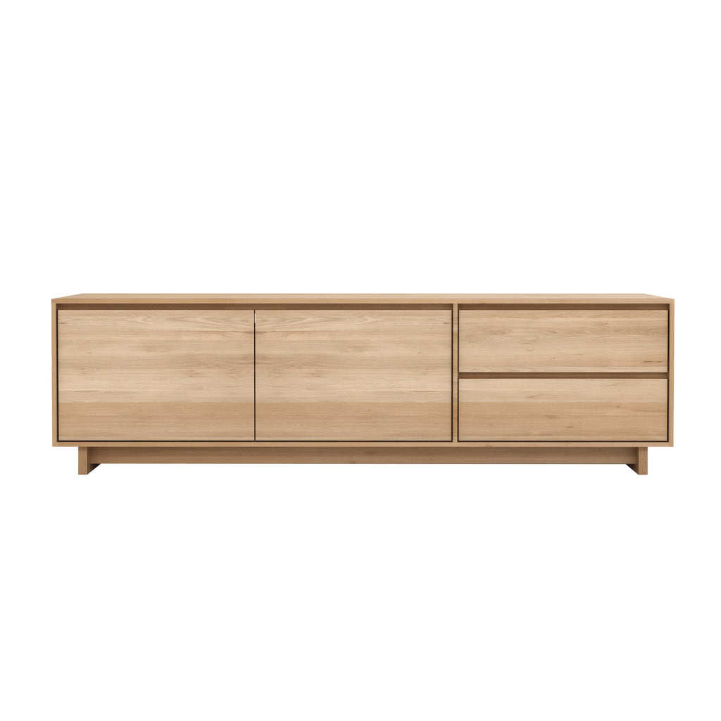 Oak Wave TV cupboard 83 x 18 x 24