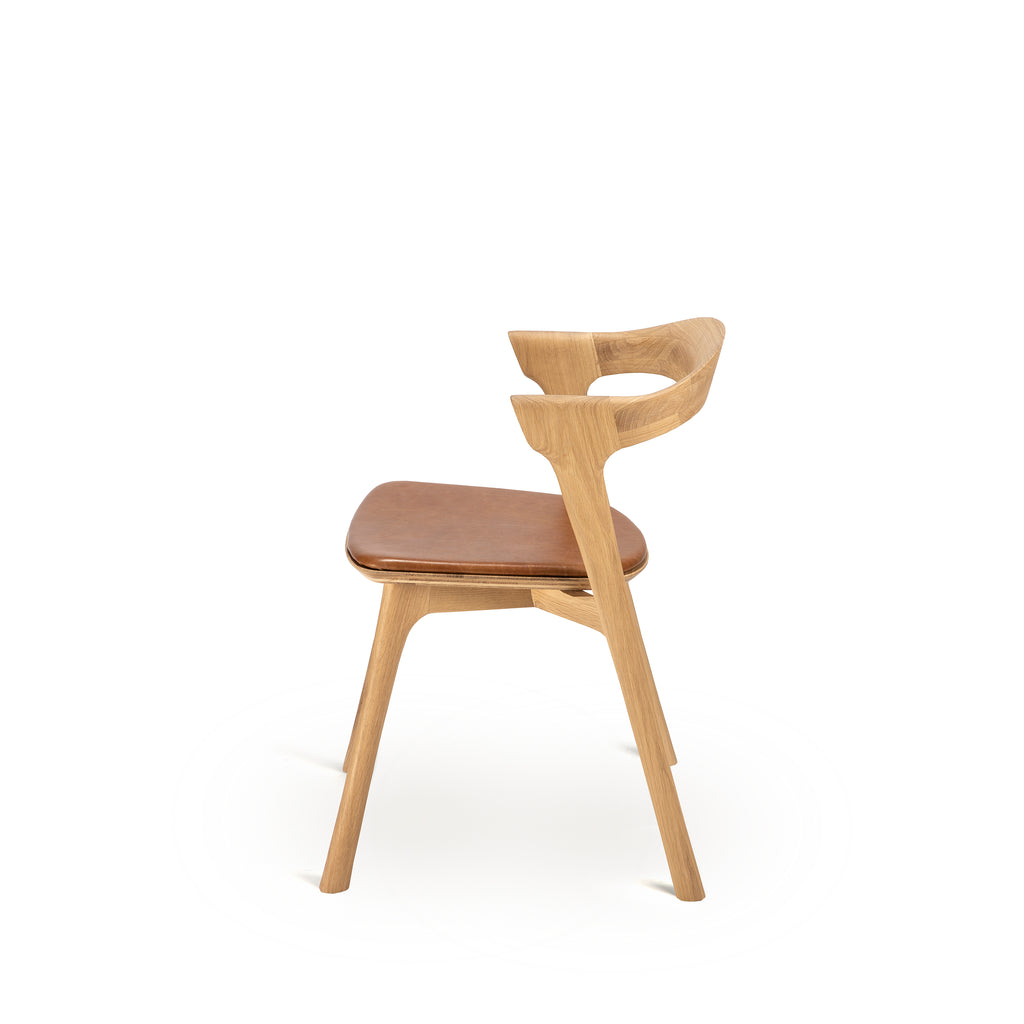 Oak Bok upholstered dining chair