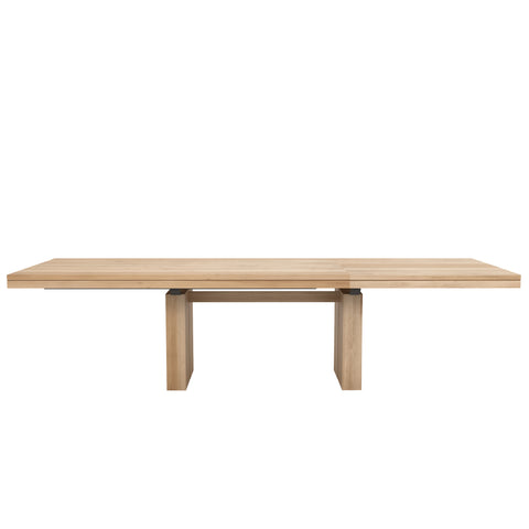 Double extendable dining table 79/118 x 39 x 30