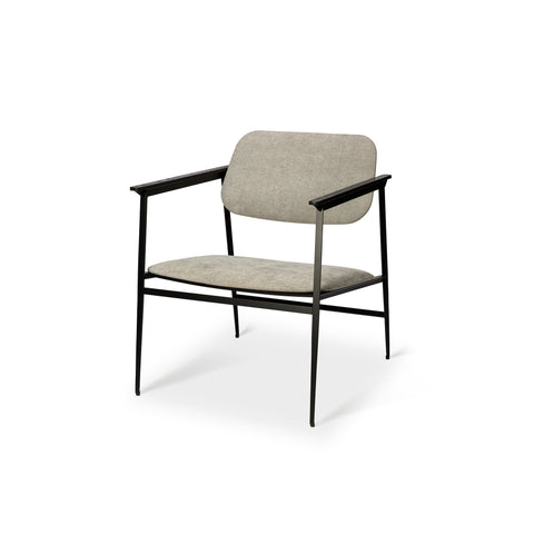 DC lounge chair - light grey 24 x 26 x 29