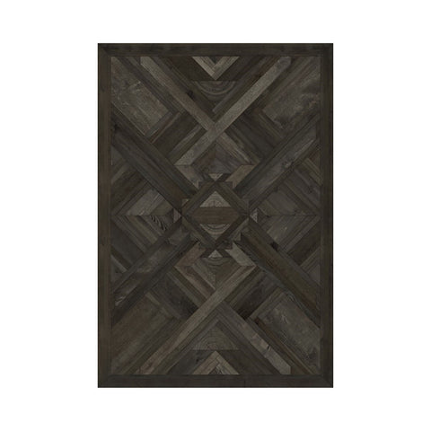 Yield to the Elements Vintage Vinyl Floorcloth