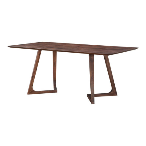 Fluid Walnut Dining Table
