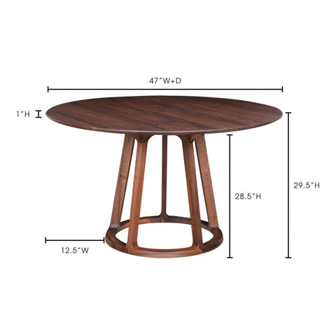 Charmed Round Dining Table