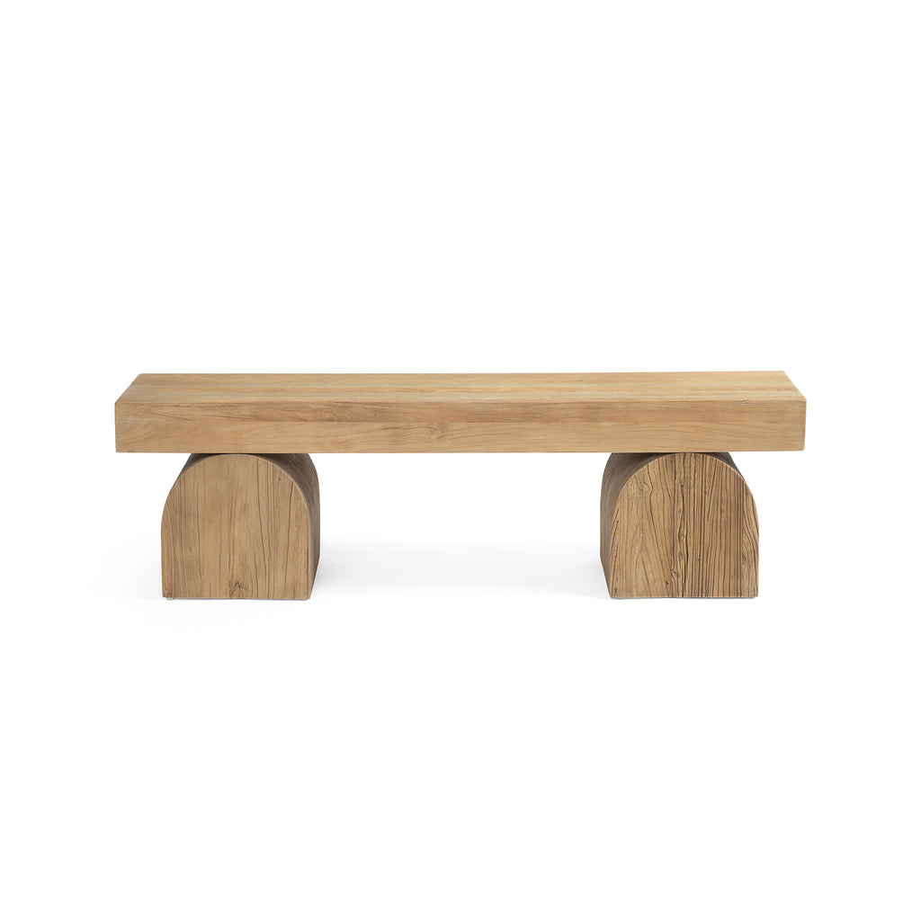 Natural Arc Bench