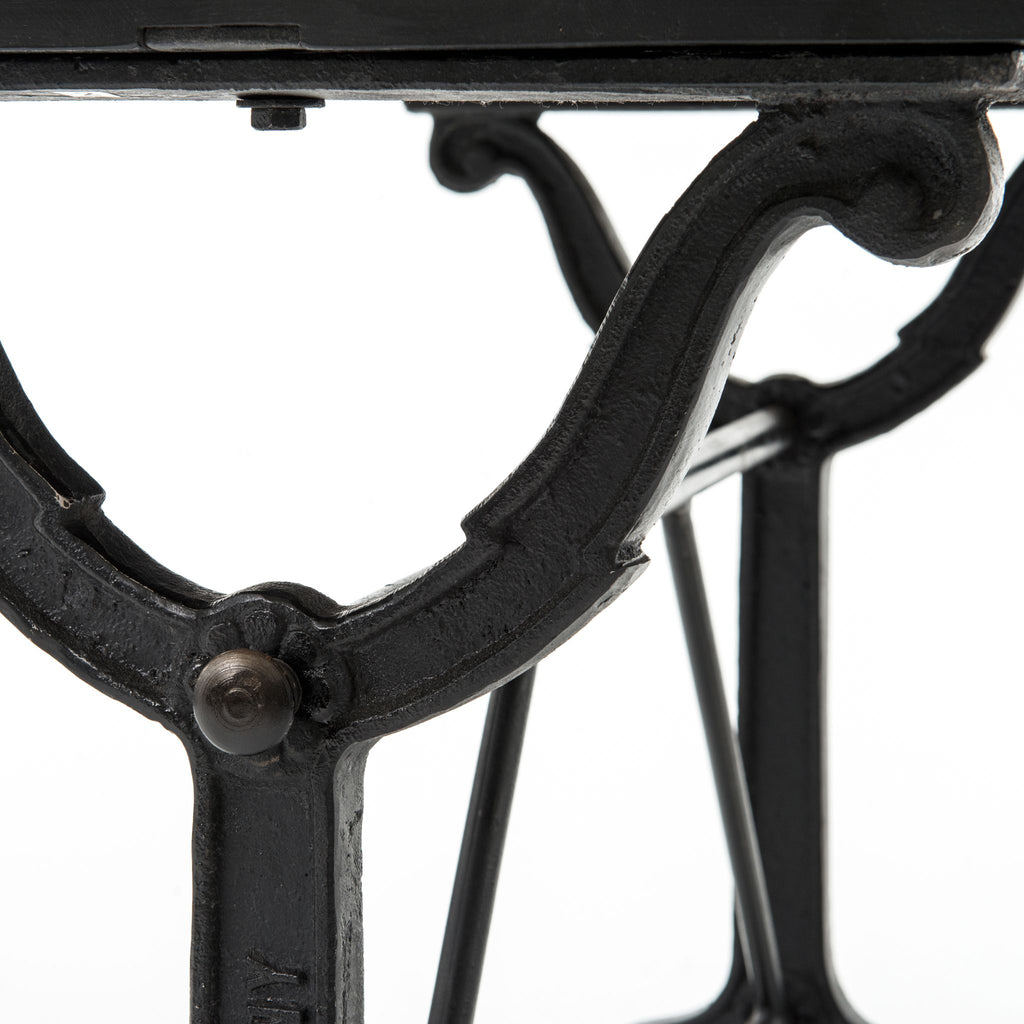 French Industrial Writing Desk