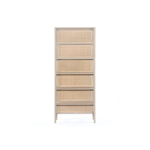 Caned Mango Bookcase