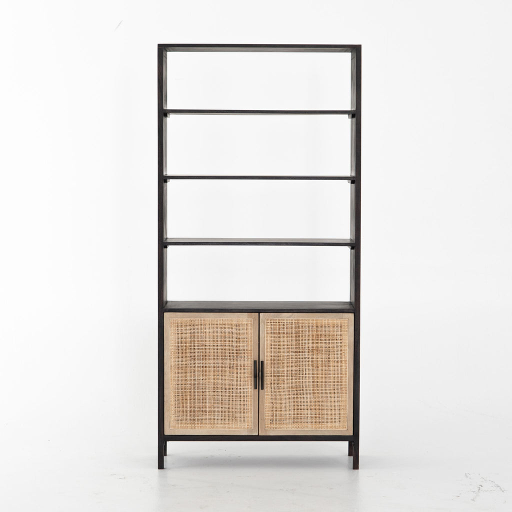 Caned Mango Bookshelf