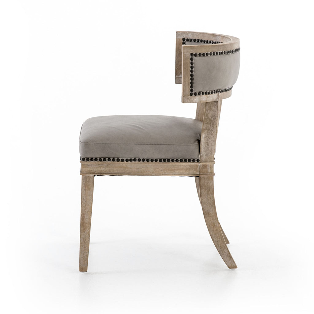 Antiqued Grey Chair
