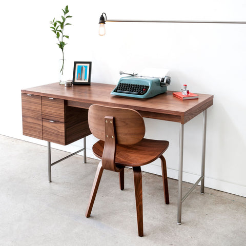 Conrad Desk Walnut Natural