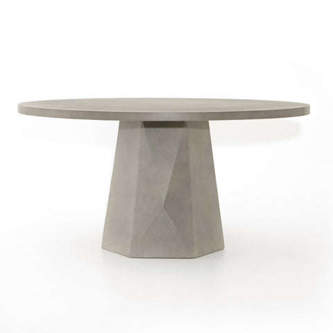 Dimensional Round Outdoor Dining Table