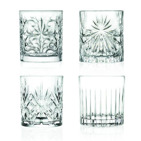 Eco Crystal Mixology Tumblers - Set of 4