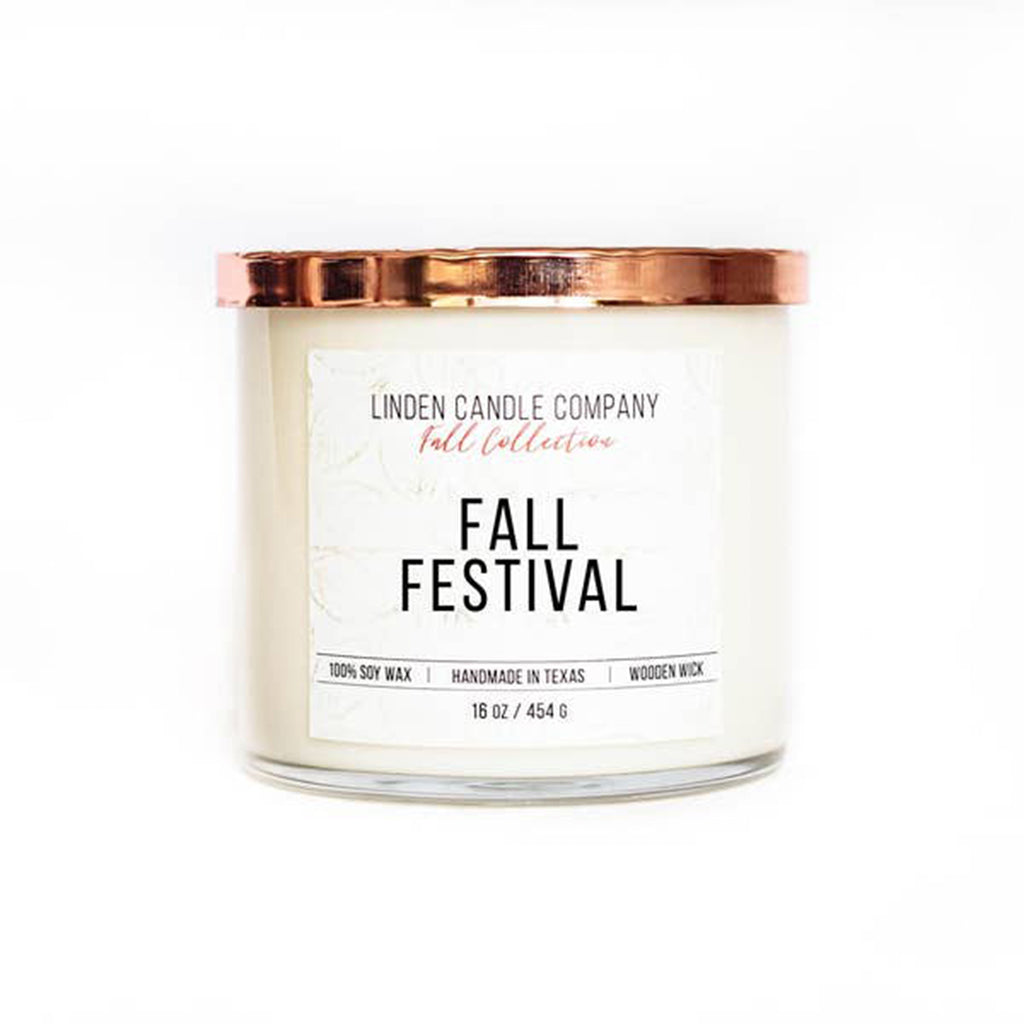 Fall Festival 16oz Soy Candle