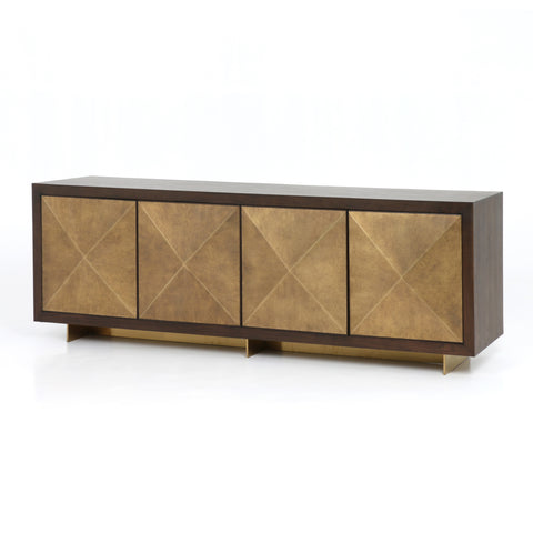Golden Deco Sideboard