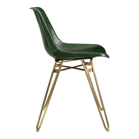 Green Hairpin Dining Chair
