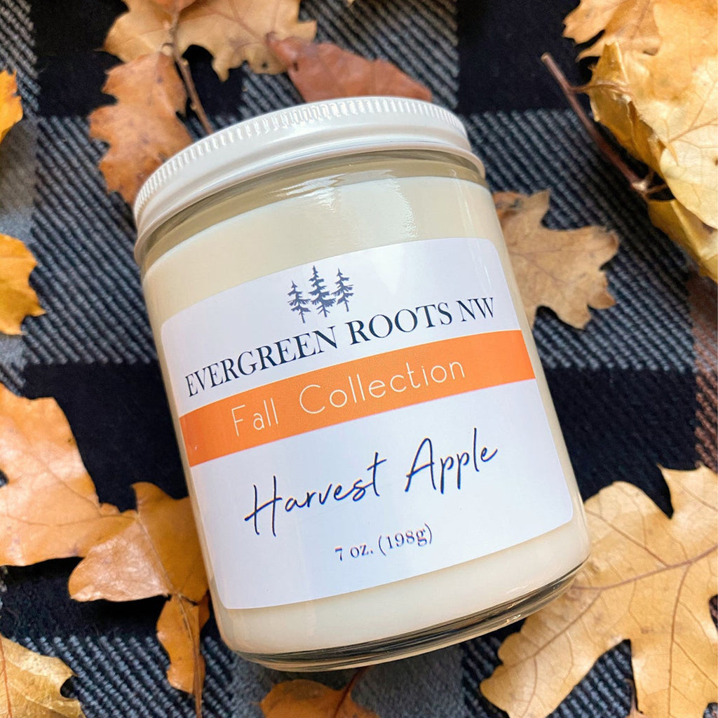 Harvest Apple - 8 fl oz candle