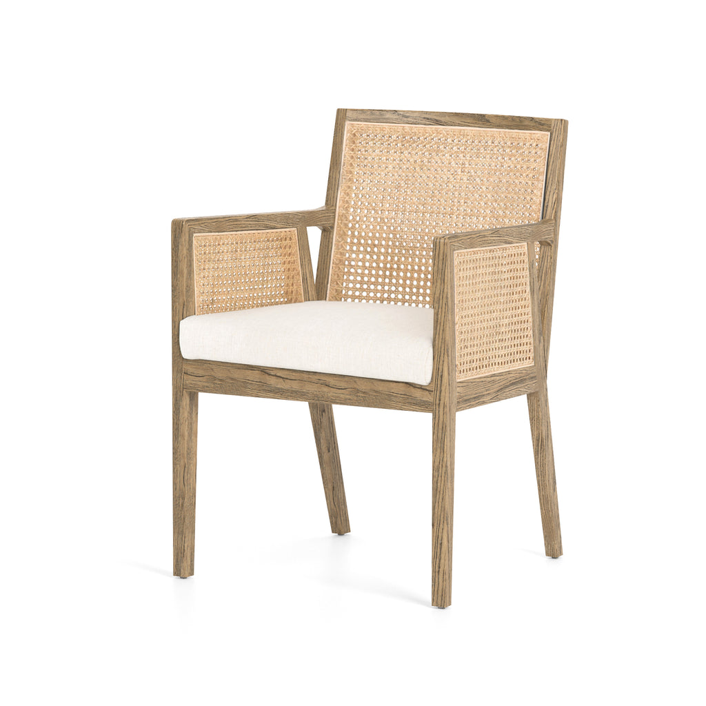 Herrett Cane Dining Arm Chair