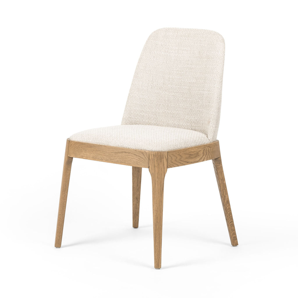 Ivory Armless Dining Chair