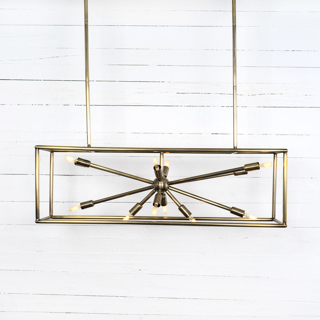 Jaxon Rectangular Chandelier