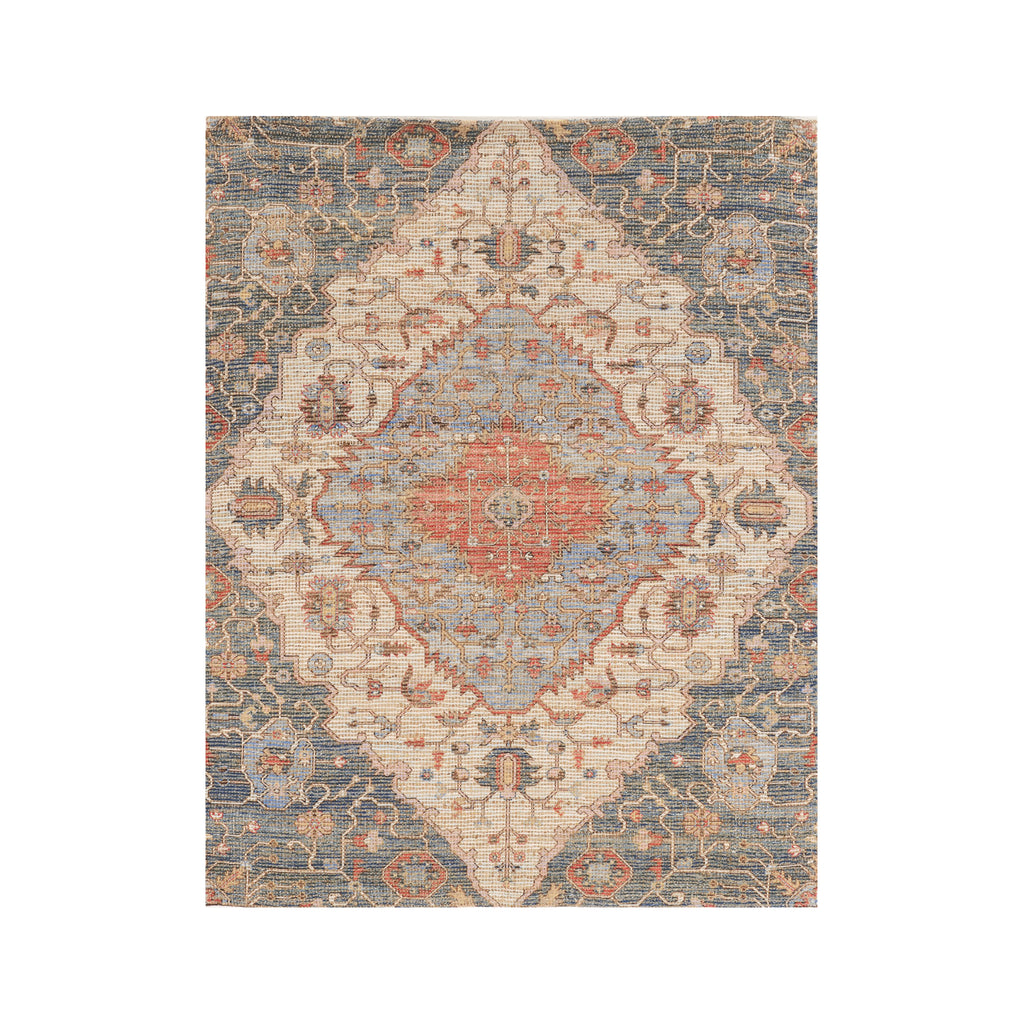 Blue/Red Gramercy Morris Rug