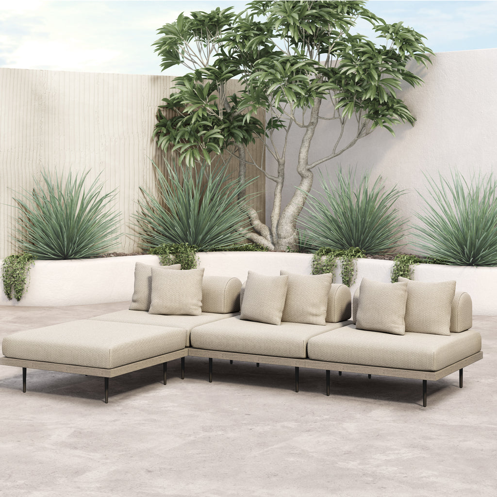 Limitless Outdoor 3-pc Sectional