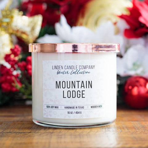 Mountain Lodge 16oz Soy Candle